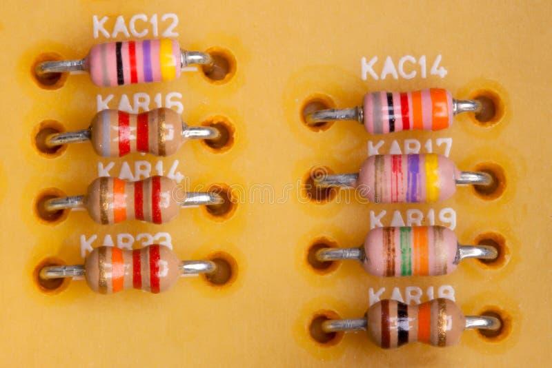 Resistors stock images