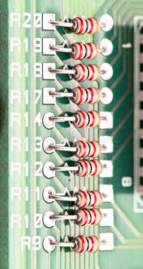 Download Resistors stock image. Image of complexity, detail, hardware - 24907613