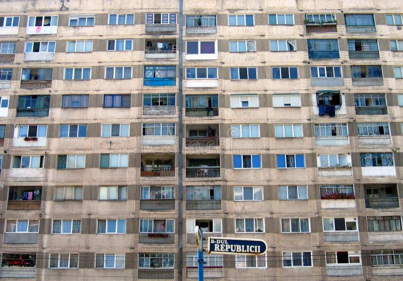 resita Ρουμανία s δημοκρατιών λεωφόρων στοκ εικόνες