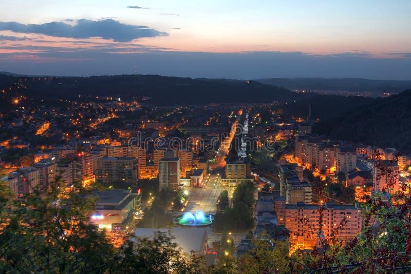 Resita, Roemenië stock foto's