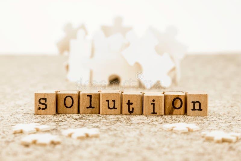 Resolução de problemas com soluções possíveis do clique foto de stock royalty free