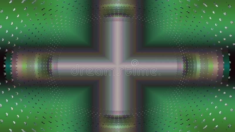 Resonance magnetic fractal style royalty free stock photo