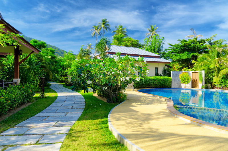 Download Resort stock photo. Image of building, pool, beach, recreation - 26515752