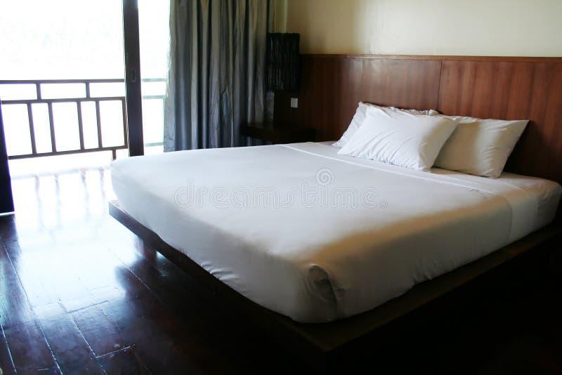 Resort Bed Royalty Free Stock Photos