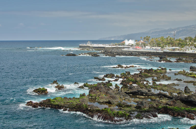 Download Resort on a coastline stock photo. Image of blue, mountain - 34187766