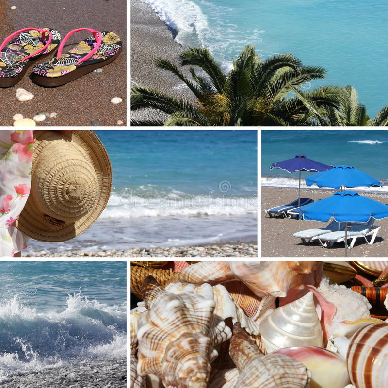 Free Resort Collage4 - Beach Stock Images - 14436434