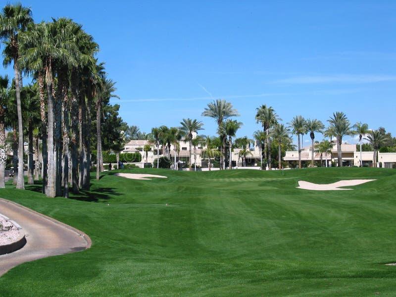 Resort Course Living stock photo