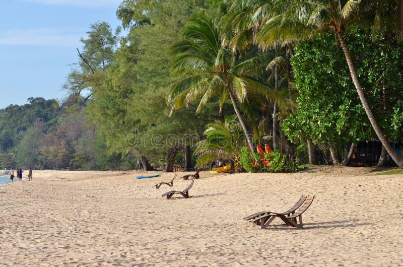 Resort da ilha de Sibu, Malásia foto de stock royalty free