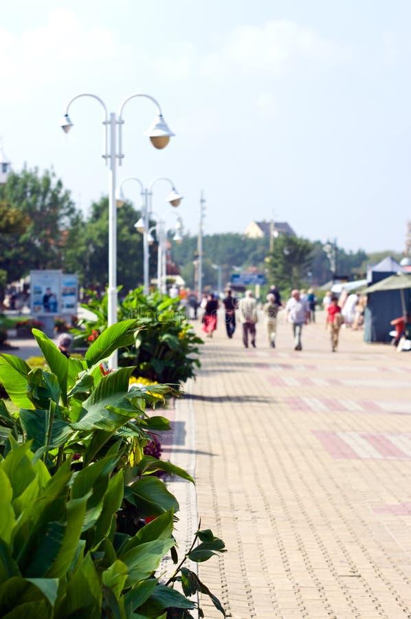Download Resort esplanade stock photo. Image of esplanade, recedes - 16040666