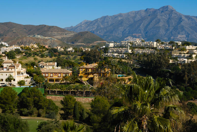 Download Resort At The Foot Of The Hill Stock Images - Image: 23267044
