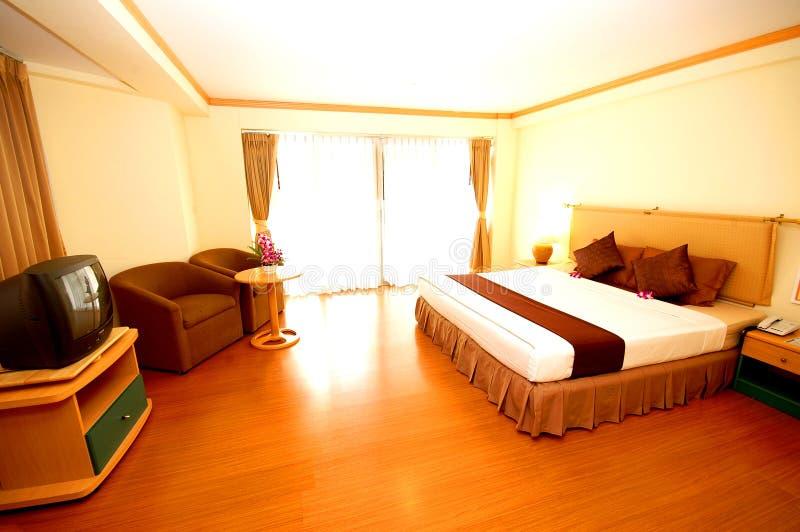 Resort guestroom stock photography