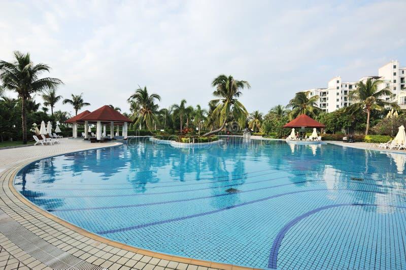 Download Resort hotel in sanya stock photo. Image of colors, coconut - 26842658