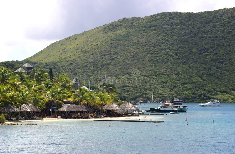 Resort on an Island stock photography