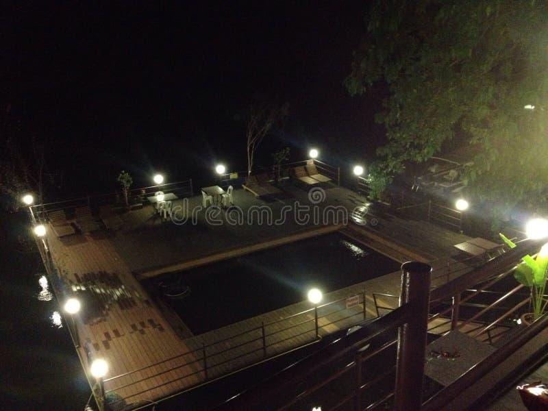Resort kanchannaburi stock photography