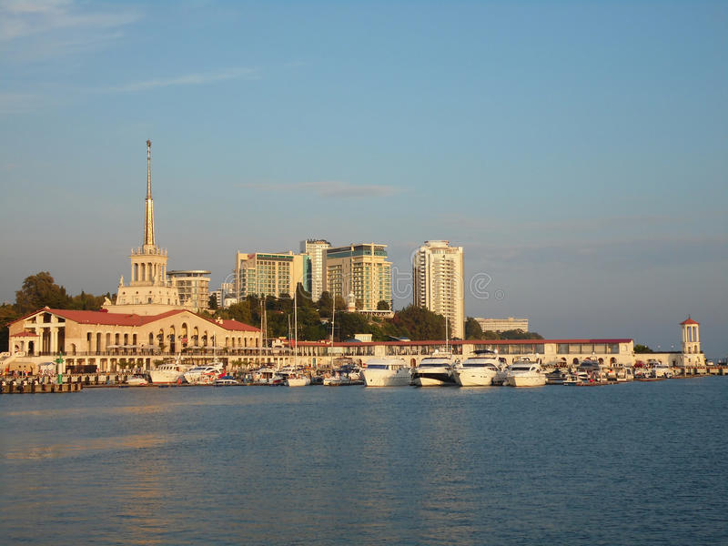 Download Resort Sochi, Russia,  The Ships At The Marina And The City Editorial Photography - Image: 58347182