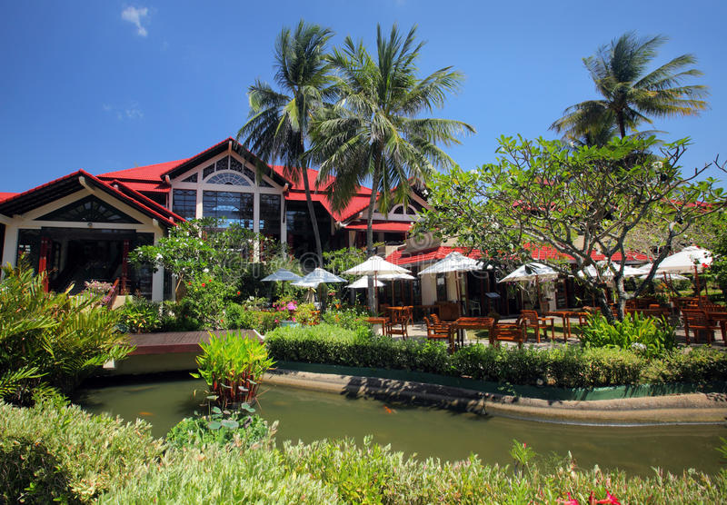 Resort in Thailand royalty free stock images