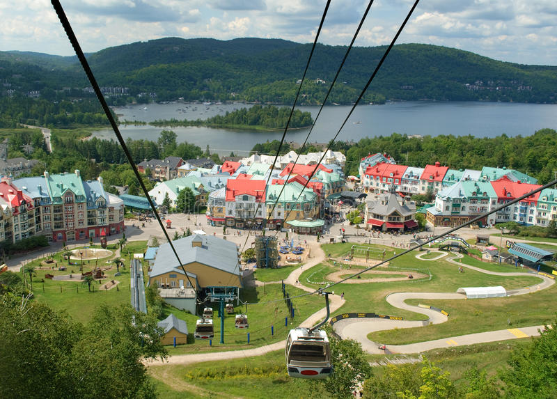 Download Resort Village Of Mont Tremblant Royalty Free Stock Image - Image: 26202406