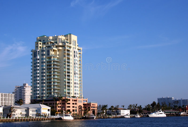 Resort on water royalty free stock images