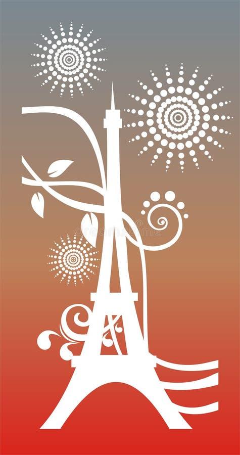 Resorte en París libre illustration