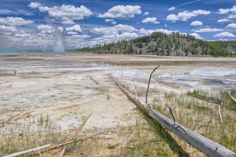 Resorte prismático magnífico, parque nacional de Yellowstone foto de archivo