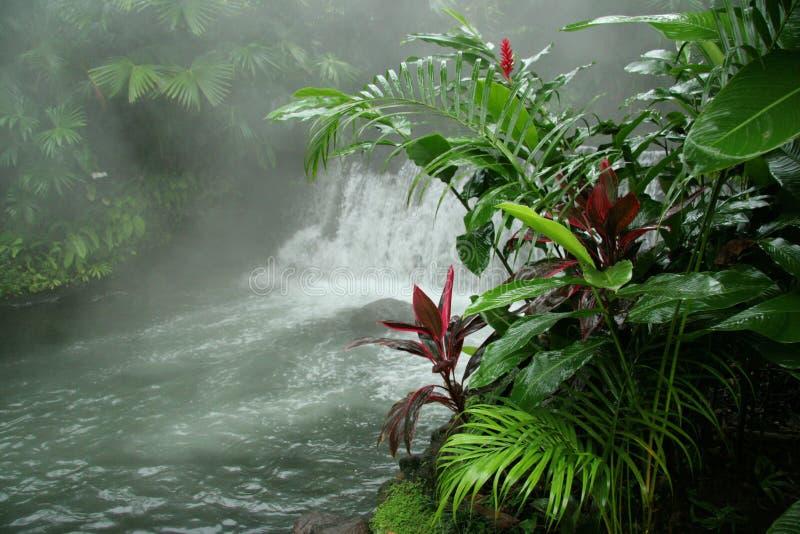 Resortes calientes de Arenal - Costa Rica foto de archivo libre de regalías