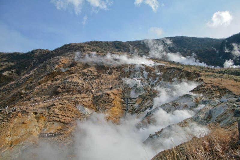 Resortes calientes de Hakone fotografía de archivo libre de regalías