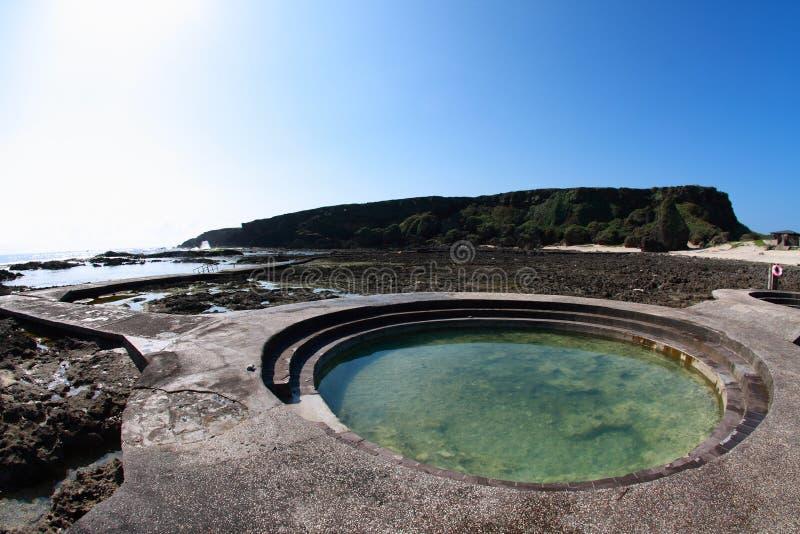 Resortes calientes de la isla verde fotografía de archivo