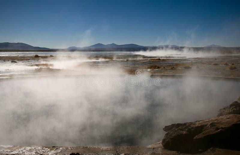 Resortes calientes naturales fotos de archivo