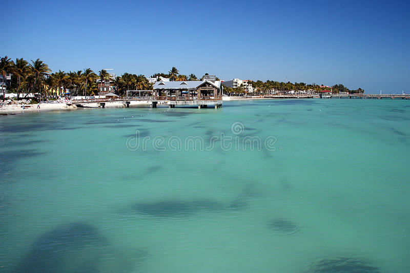 Resorts in Key West stock photos