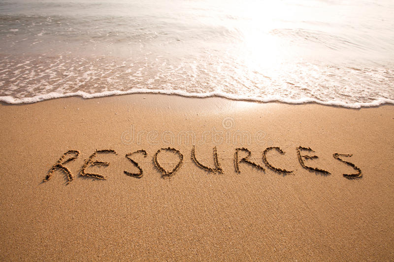 Resources stock images