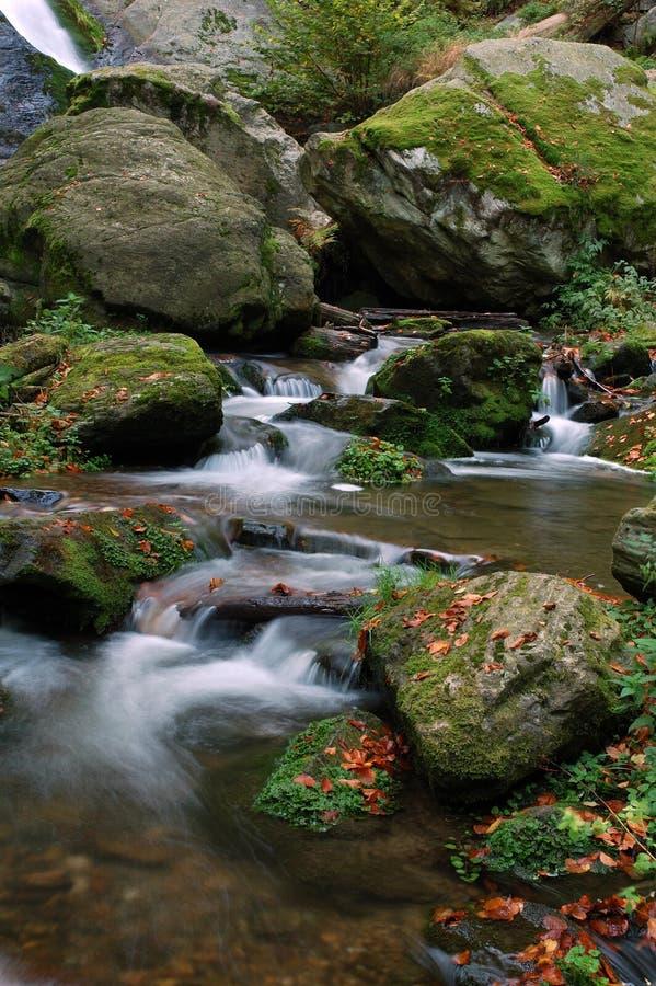 Resov Wasserfälle lizenzfreies stockbild