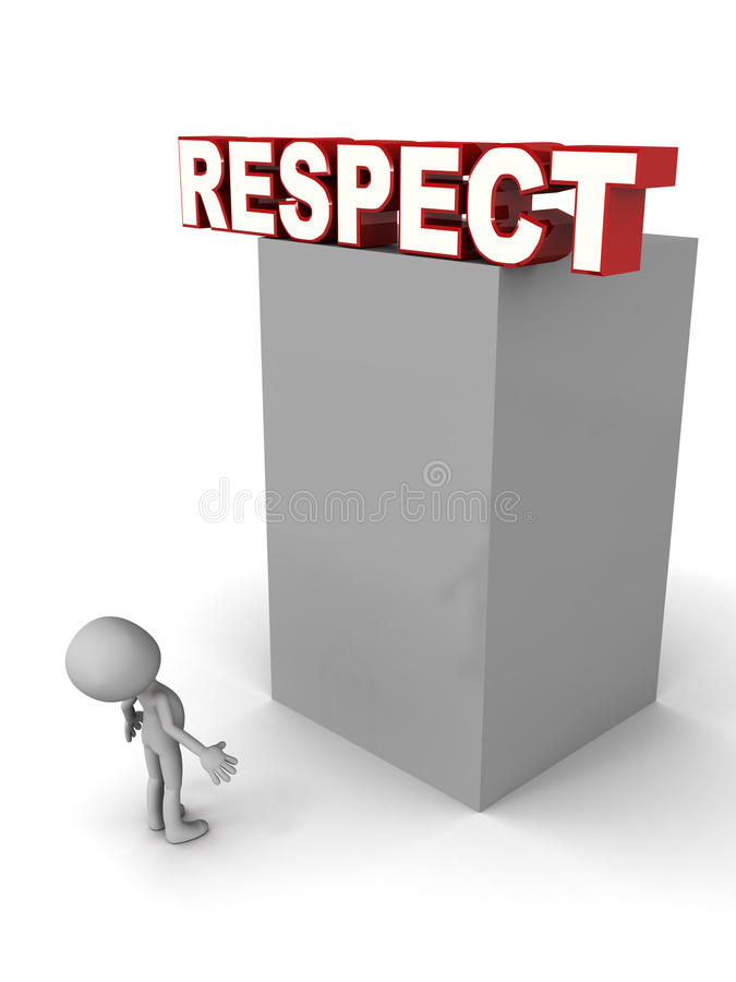 respect illustration libre de droits