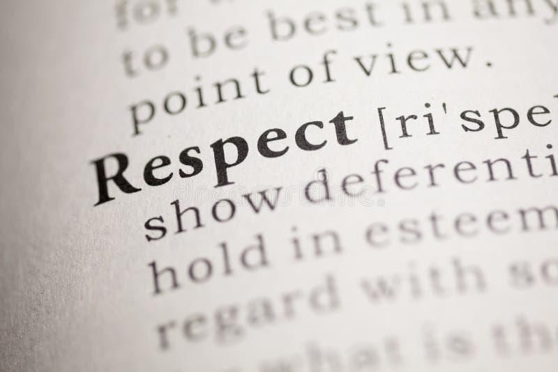 respect royaltyfria foton