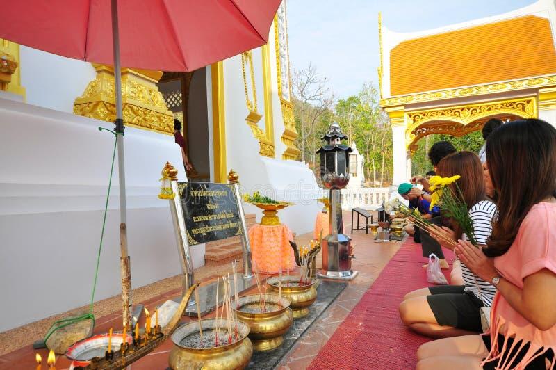 Respect au Bouddha photos libres de droits
