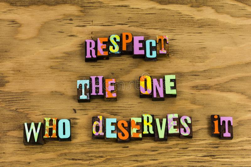 Respect equality feminism woman relationship stock images