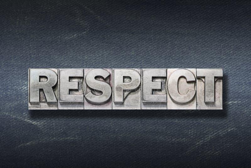Respektordhåla royaltyfria bilder