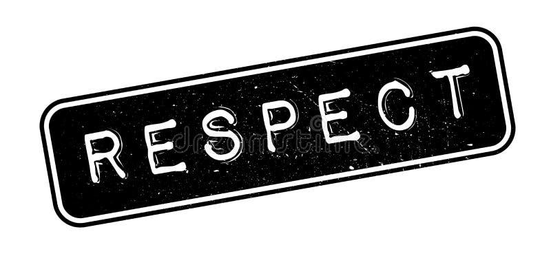 Respektstempel lizenzfreie abbildung