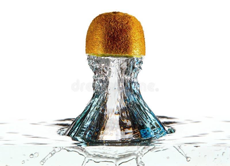 Respingo abstrato da água do fruto imagem de stock royalty free