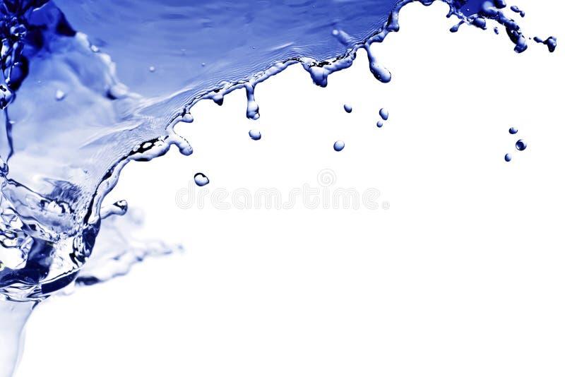 Respingo da água imagens de stock