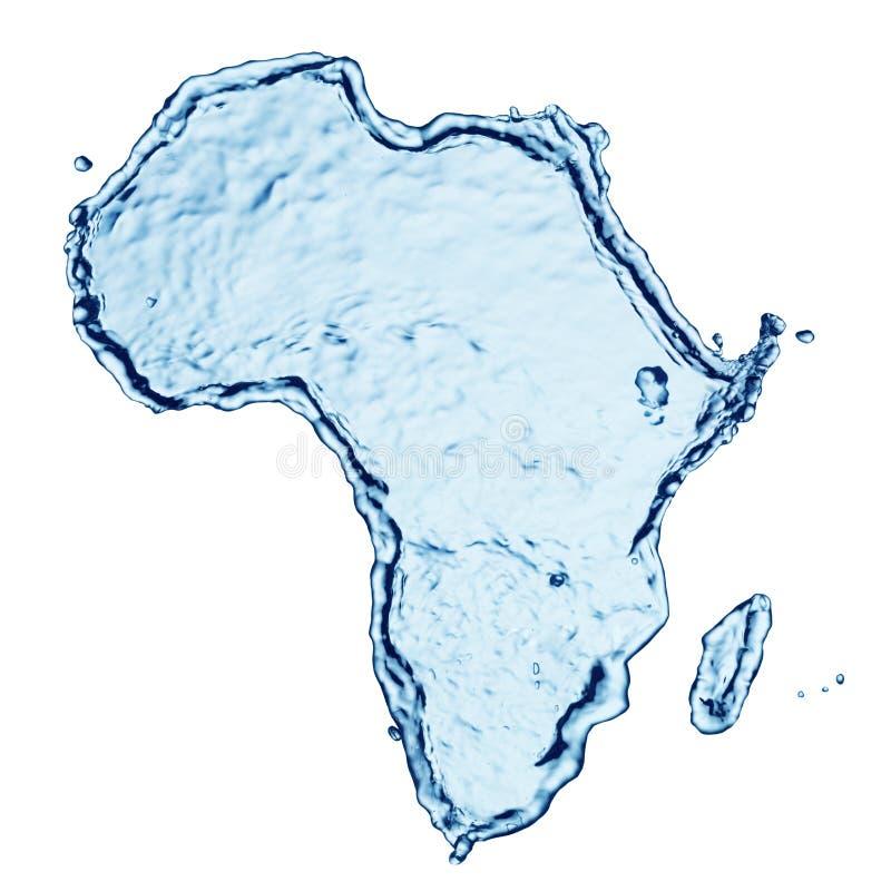 Respingo da água de África fotos de stock royalty free