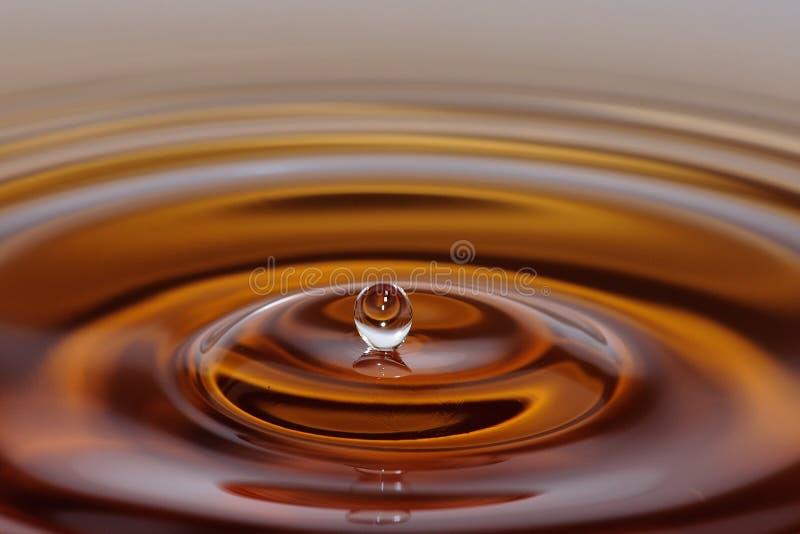 Respingo da gota da água imagens de stock