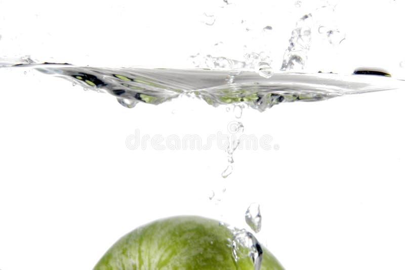 Respingo da maçã fotos de stock