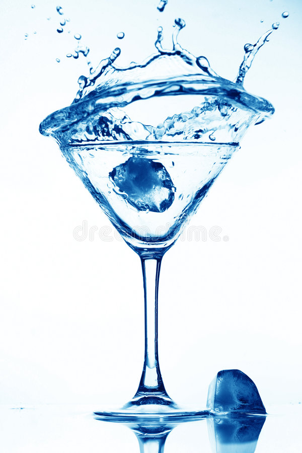 Respingo do álcool imagem de stock royalty free