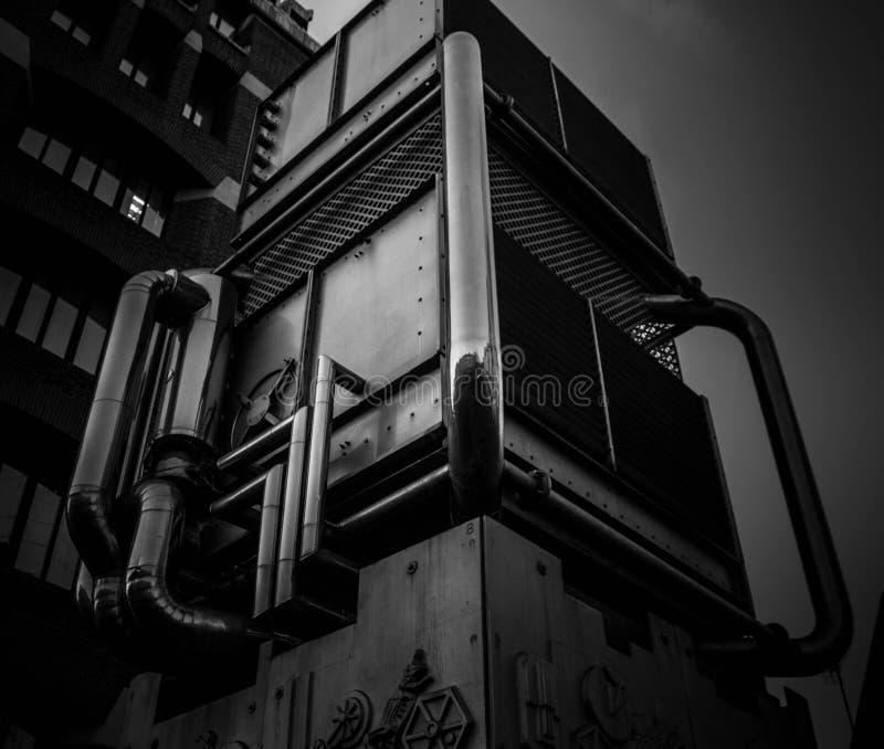 Respiradouro da estação de Pimlico foto de stock