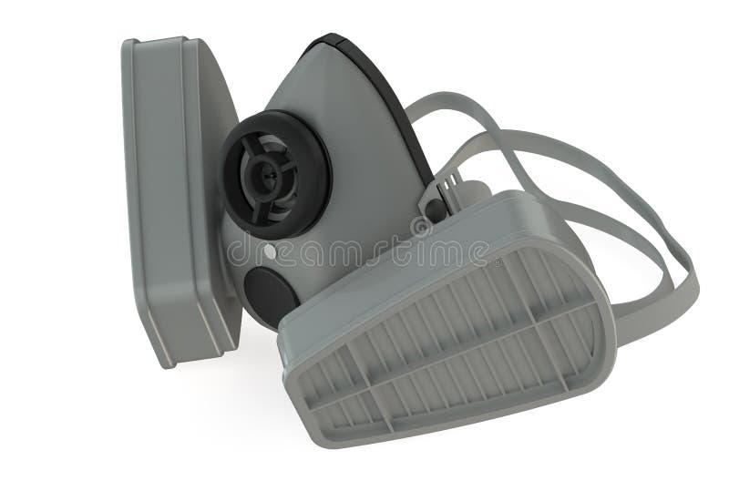 respirateur illustration stock