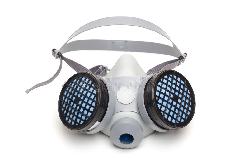 respirator royaltyfria bilder