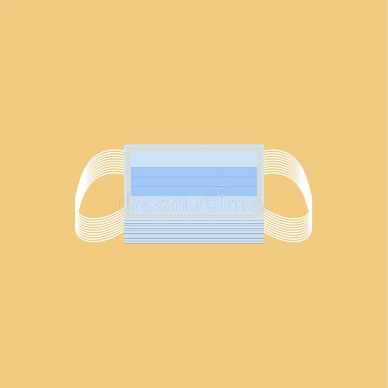 Free Respirator Medical Mask For Icon Graphic, Protective Mask, Protective N95, Mask Respirator Protect Dust Air Pollution PM 2.5 In Du Royalty Free Stock Photos - 187700528