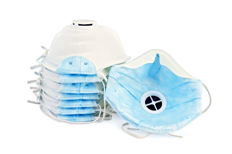 Respiratoren wegwerfbar stockfoto