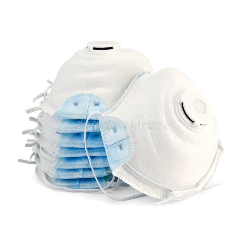 respiratorer royaltyfria bilder