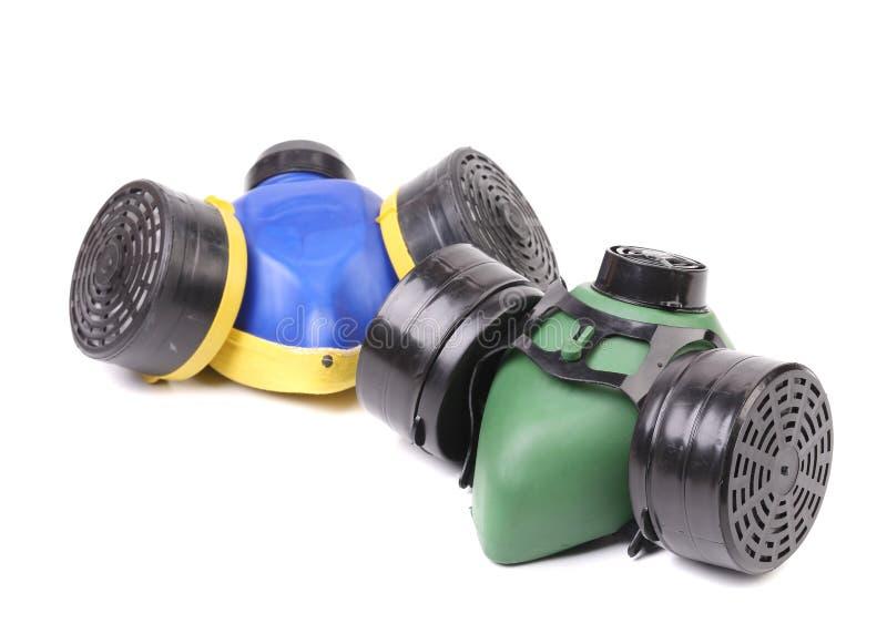 Respirators closeup. royalty free stock photo